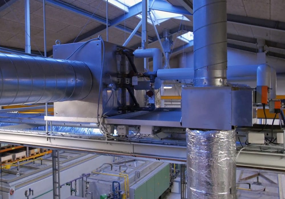 heat recovery at FJ industries