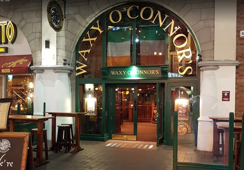 front of waxy o conner