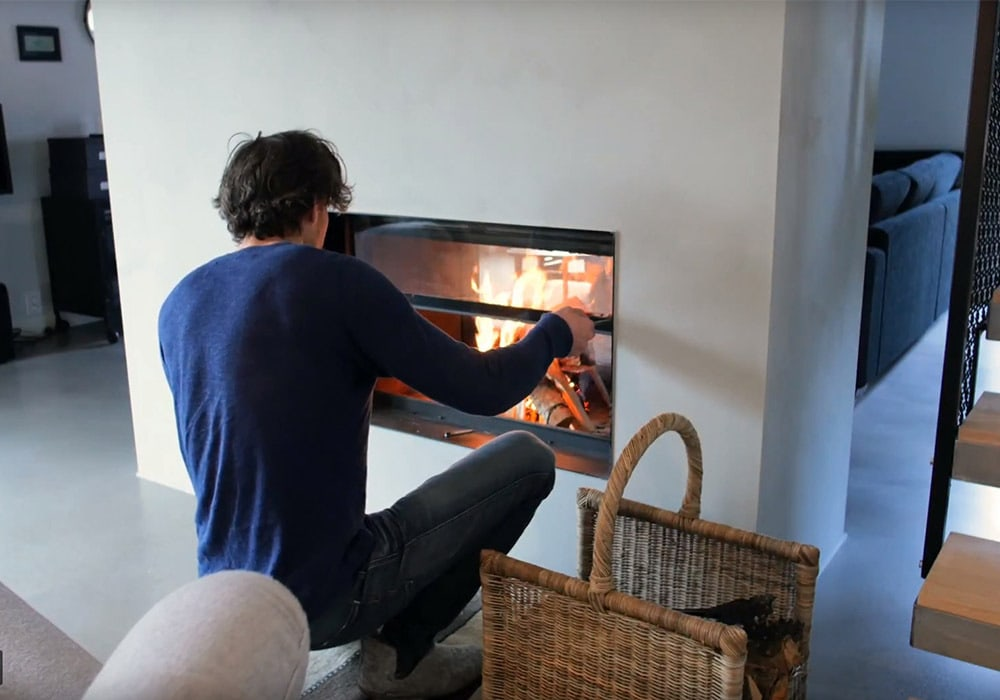 sven fireplace in sweden