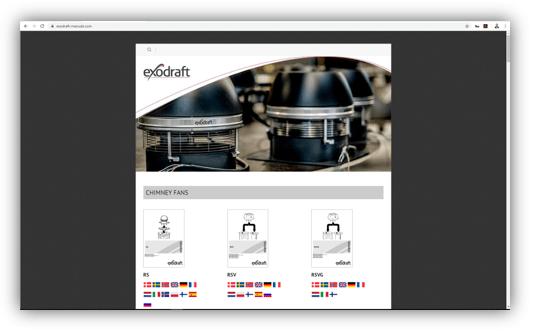 exodraft manuals website